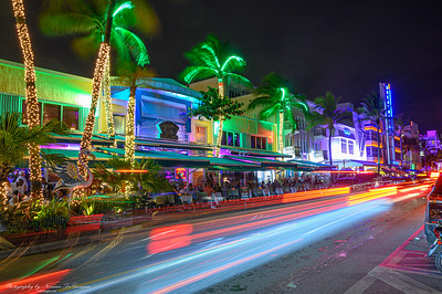 South Beach Night Scene
