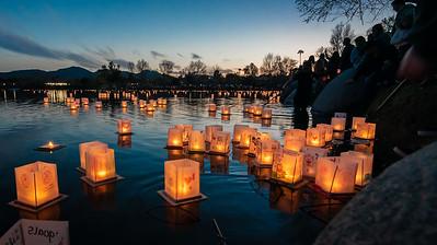 1000 Lights Water Lanterns