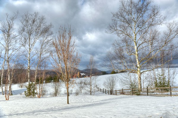 Winter in Stowe,VT