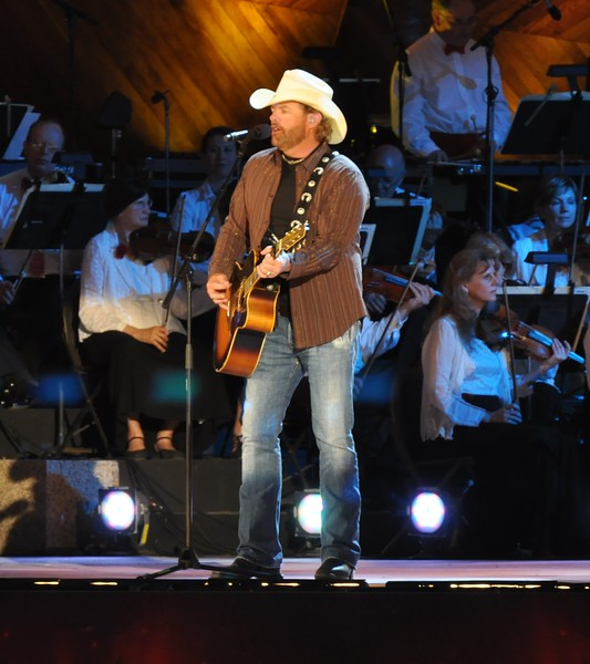 Toby Keith, Boston Pops concert, July 4th