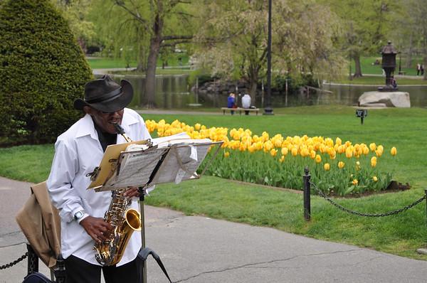 Jazz in Boston Gardens