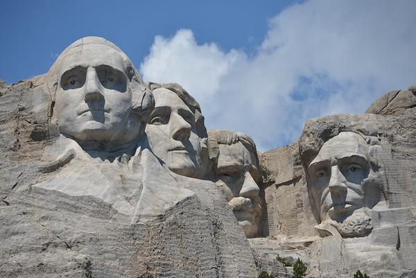 Mt Rushmore profile