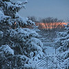 "Fire N Ice - Dawn after 19""snow storm - Jan 27, 2011"