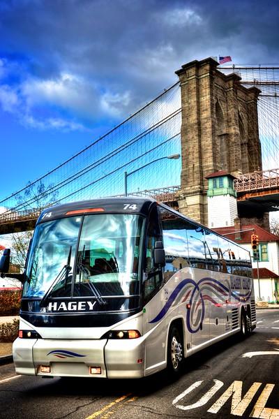 Hagey 74 under the Brooklyn Bridge