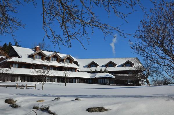 Van Trappe lodge, Stowe VT