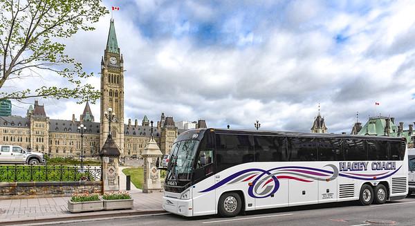 Hagey Coach visits Parliament in Ottawa