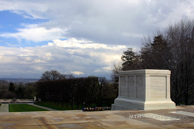 Tomb of the Unknowns - Arlington National Cemetery.  (Arlington, VA)