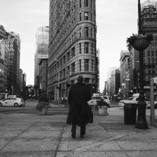 The Grey Man Cannot Resist Triangular Buildings
