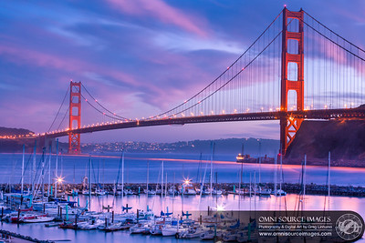 Golden Gate Bridge Twilight - Sausalito, CA