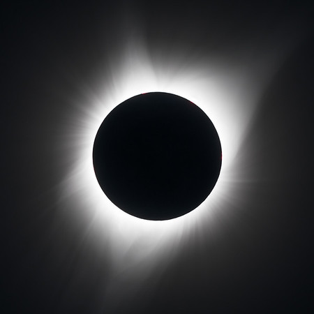 Solar Eclipse Corona - Oregon 2017