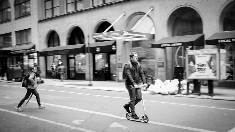 Scooter and the City