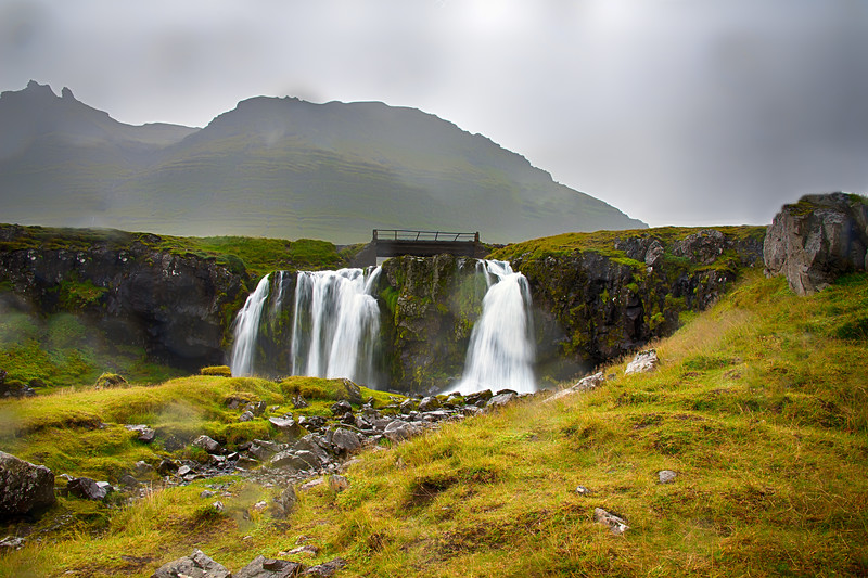 Hraunafossar Falls