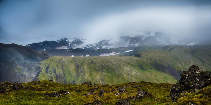 Snæfellsjökull glacier-volcano