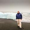 Me at Jökulsárlón glacier lagoon