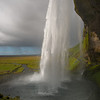 Behind the Seljalandsfoss Look closely at the people on the other side-