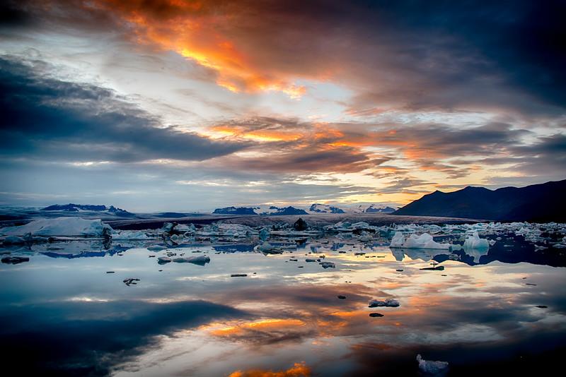 Glacier Lagoon Situated at the head of Breiðamerkurjökull Glacier-2