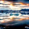 Glacier Lagoon Situated at the head of Breiðamerkurjökull Glacier