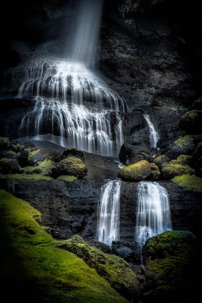 Lower Foss á Síðu Waterfall (see map)