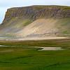 Fjord cliff
