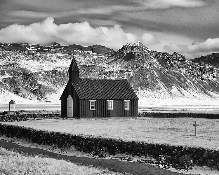 Little Black Church at Búðir - Snæfellsnes Peninsula, Iceland-7
