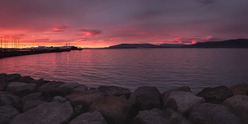 Reykjavik Harbor.