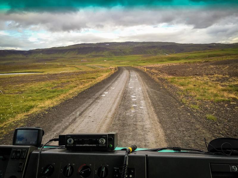 Westfjords traveling