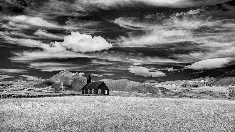 Little Black Church at Búðir - Snæfellsnes Peninsula, Iceland-5