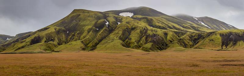 Hekla volcano tephra erosion