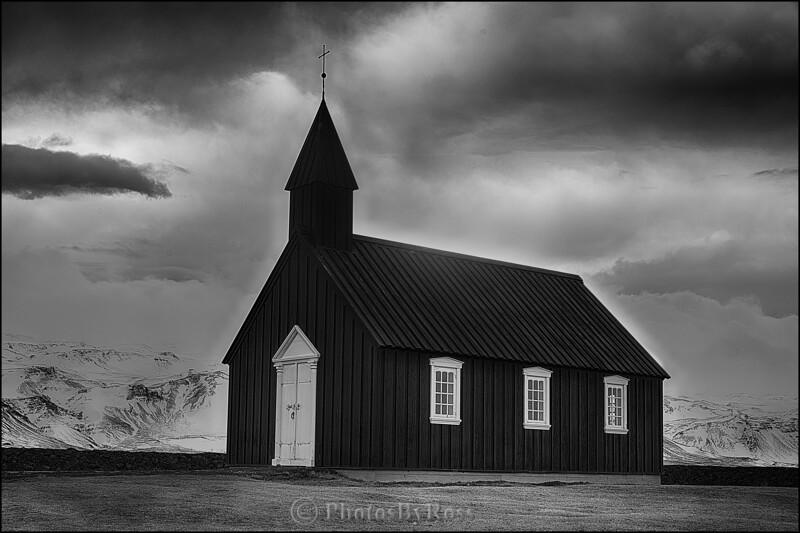 Budir Kirkja Black Church