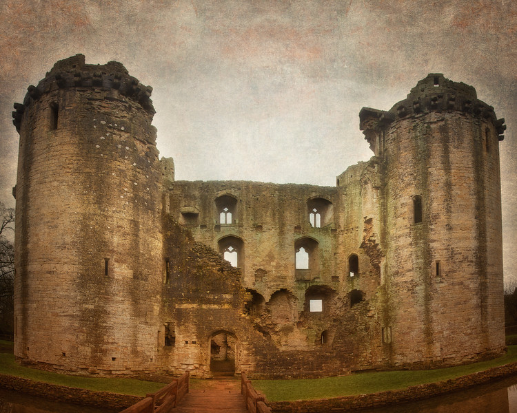 Nunney Castle, Somerset, Great Britain
