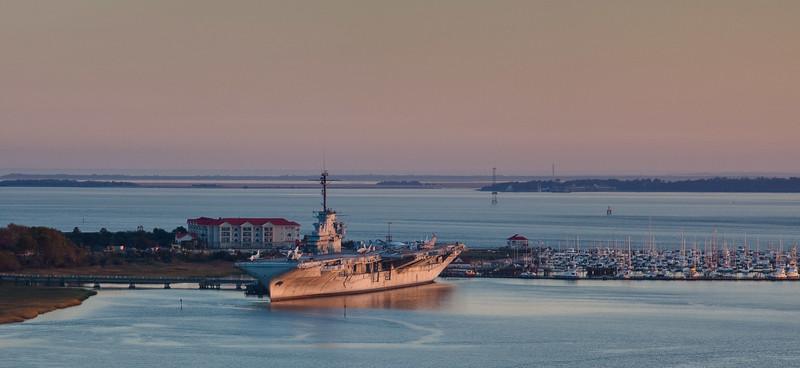 USS Yorktown WWII Now a musuem