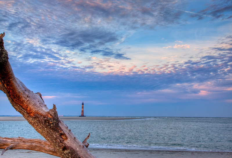 Morris Island, SC Lighthouse circa 1870