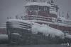 Snowstorm, Feb 2010 Baltimore Harbor