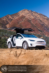 Tesla Model X Mt Diablo Morgan Territory by Greg Linhares
