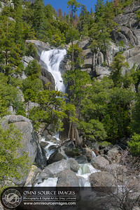 Cascade Creek Falls Yosemite