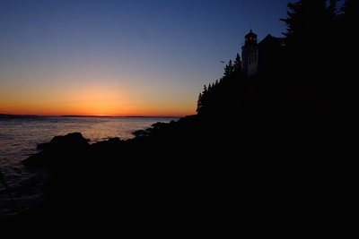 Bass-Harbor Lighthouse Dusk