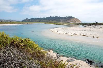 Water in Del Mar, California.