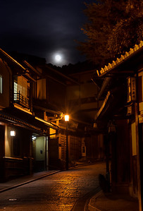 Alley by Moon