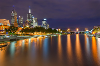 Looking Over the Yarra