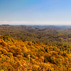 Blue Valley Overlook in Nantahala National Forest