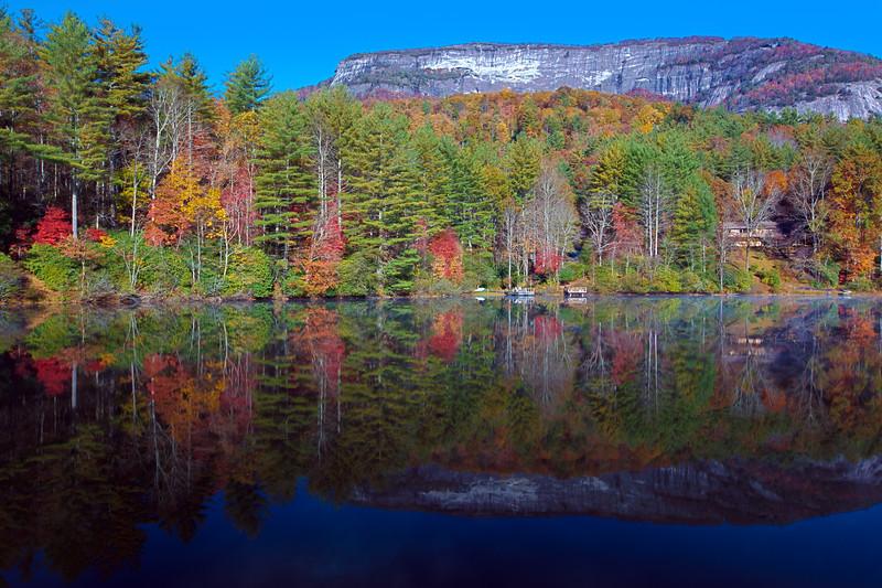 Reflections of Whiteside Mountain, NC