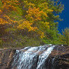 Glen Falls in Nantahala National Forest