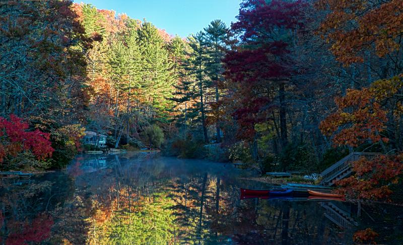 Reflections on Lake Sequoyah