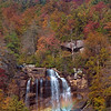 Rainbow Whitewater Falls in Pisgah National Forest