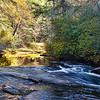 Somewhere on Cullasaja River in Nantahala National Forest