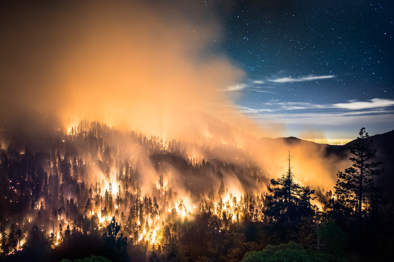 Sequoia National Park Wildfire