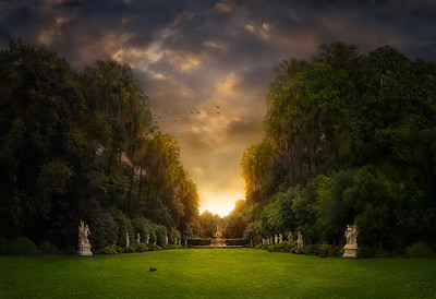"""The Baroque Garden"""