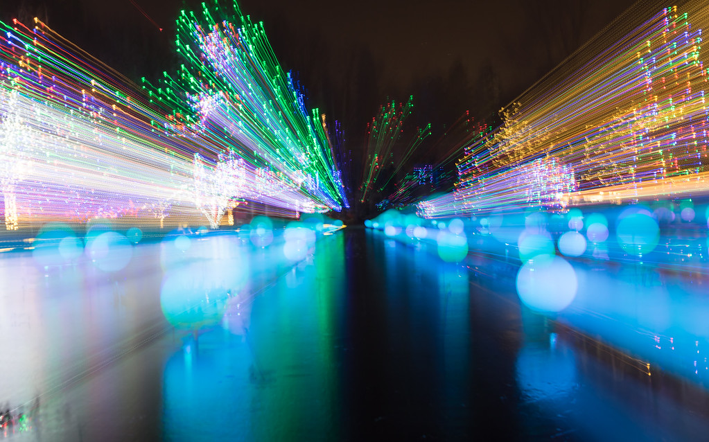 Psychedelic Holiday Lights