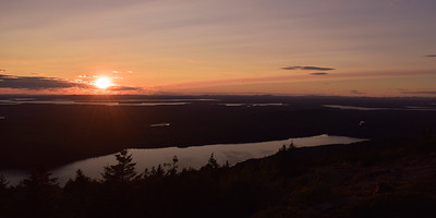Cadillac Mountain Sunset | Acaria National Park