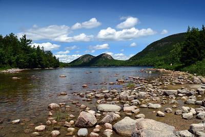 Jordan Pond & The Bubbles | Acadia NP